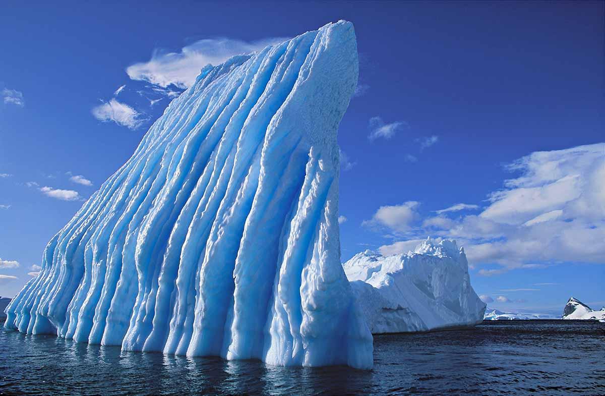 Blue Iceberg Eroded