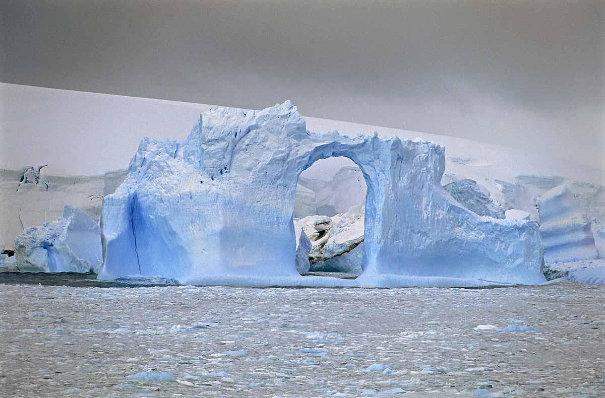 Blue Iceberg Arch