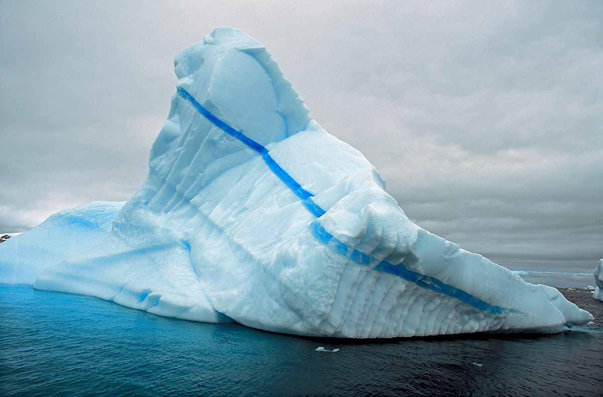 Blue Stripe Iceberg