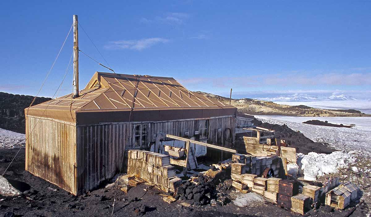 Shackleton Hut