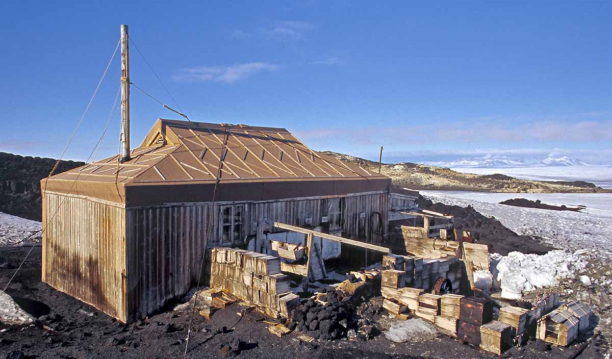 Shackleton Hut