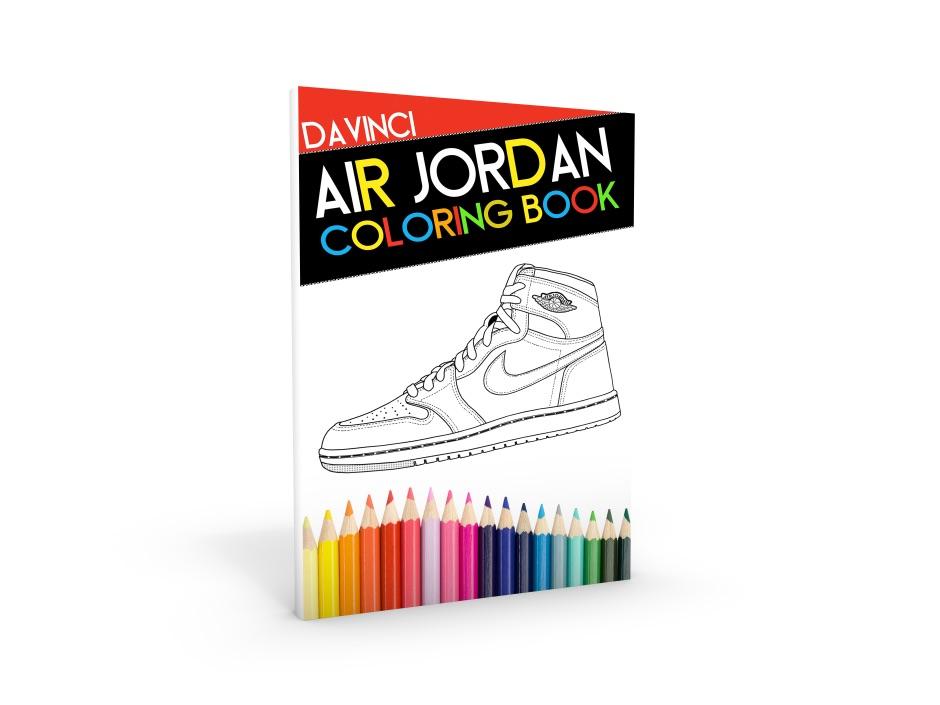 Jordan/Sneaker Coloring Books