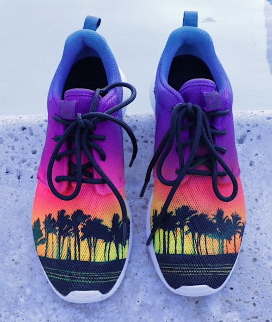 Palm Trees in Paradise Stencil Set for Shoes & Other Surfaces