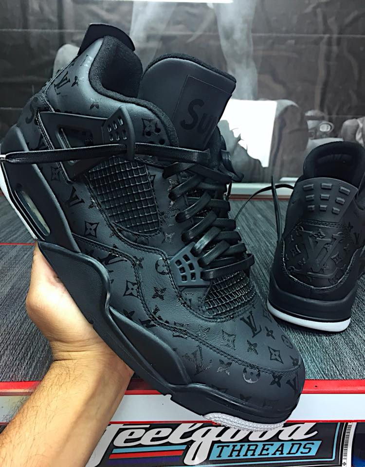 Black on Black LV x Supreme Customs For… (Click to find out!)