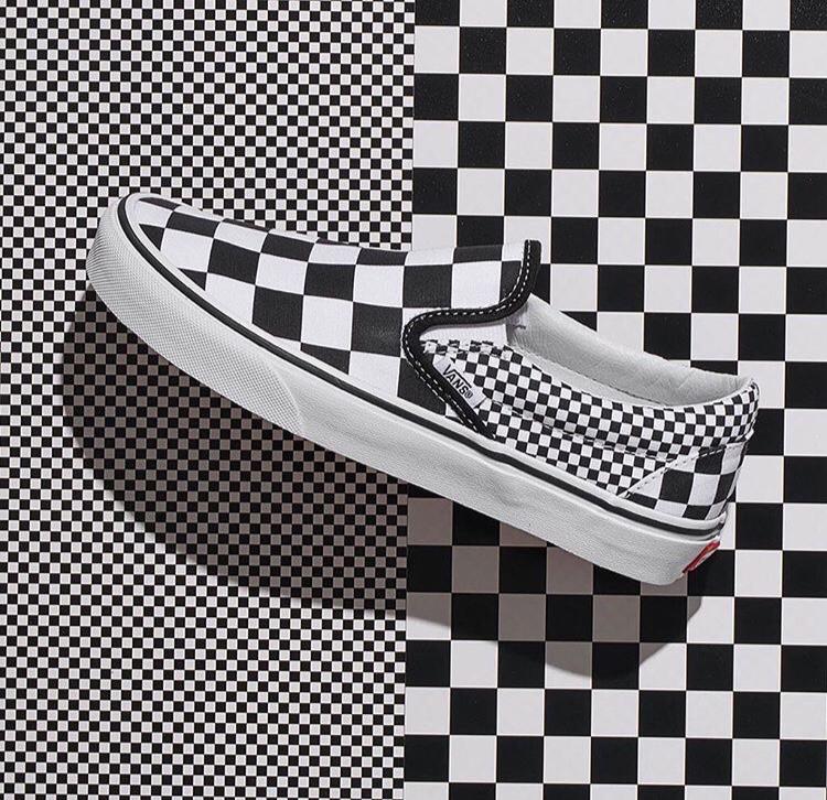 Vans Checkerboard Stencil Set