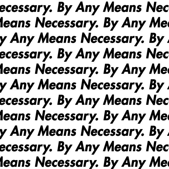 """""""By Any Means Necessary"""" Stencil Set"""