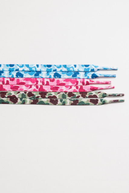 Bape Camo Print Shoelaces (3 Colors)