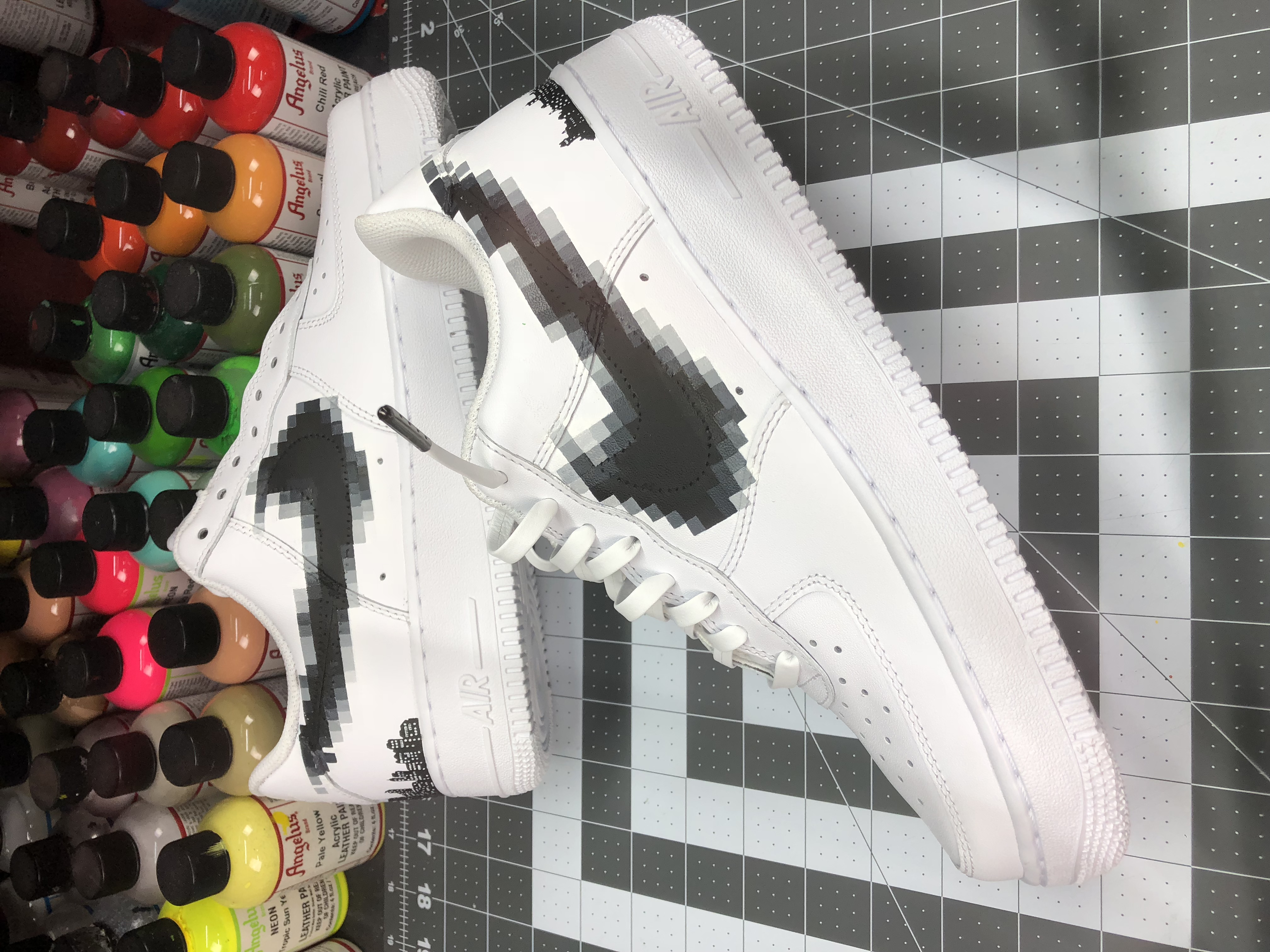 Censored Swoosh Stencil Pack
