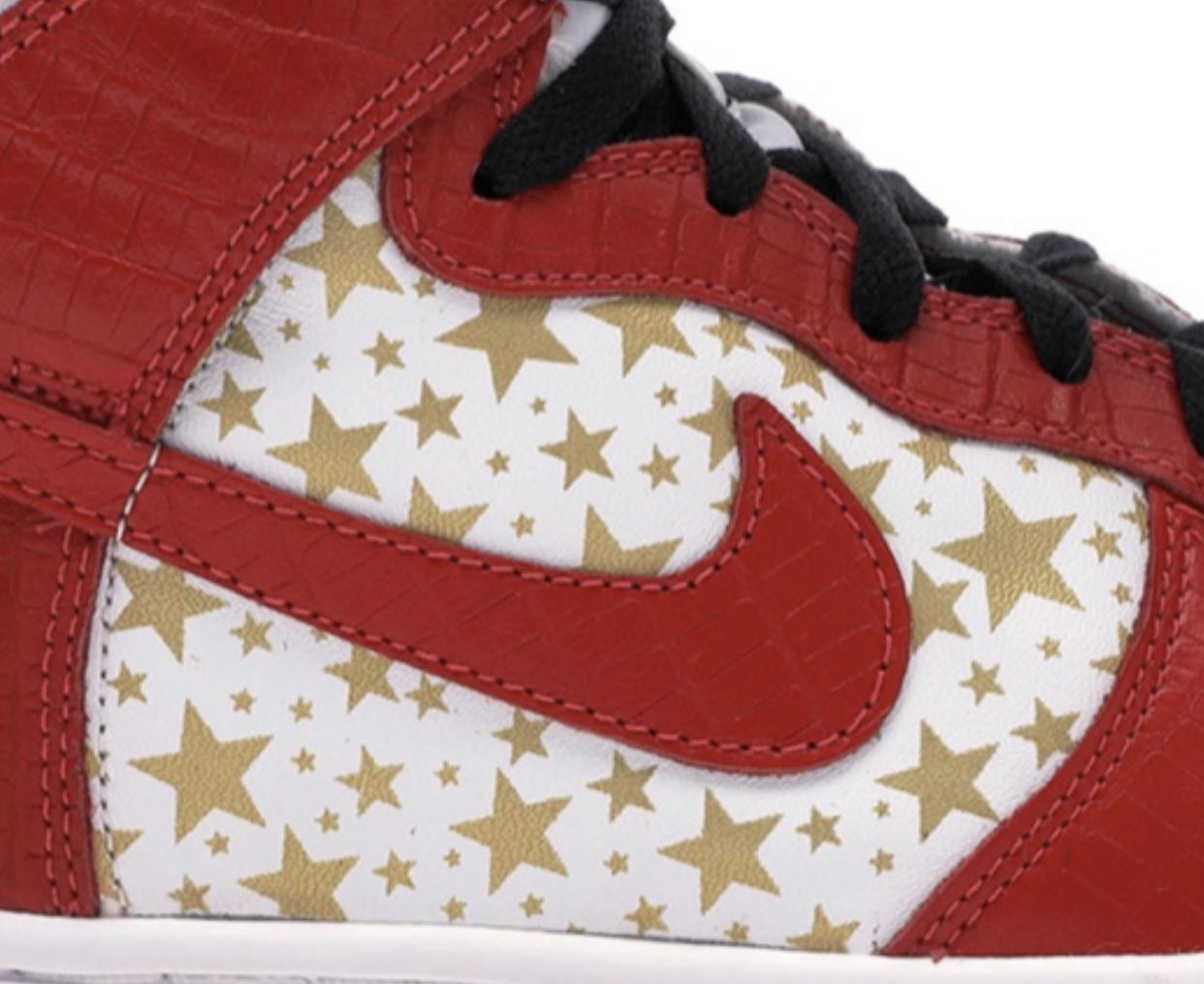 Nike Dunk High SB Stars Stencil Set