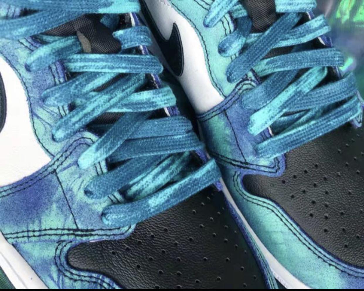 Tie Dye Laces for Jordan 1, Air Force 1 & More!