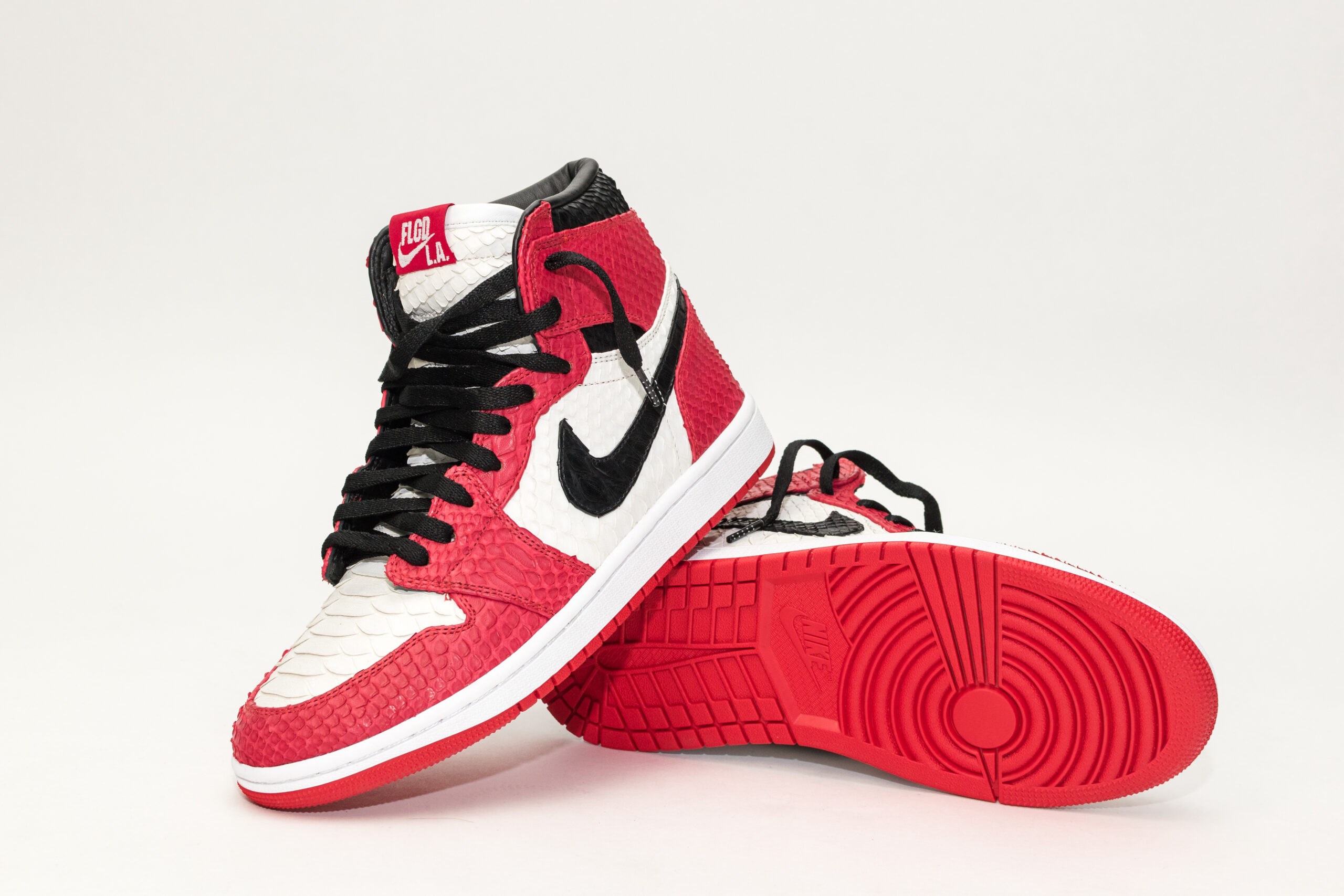 Custom Python Jordan 1 Chicago Custom