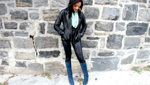 Blue Suede boots from Steven Madden