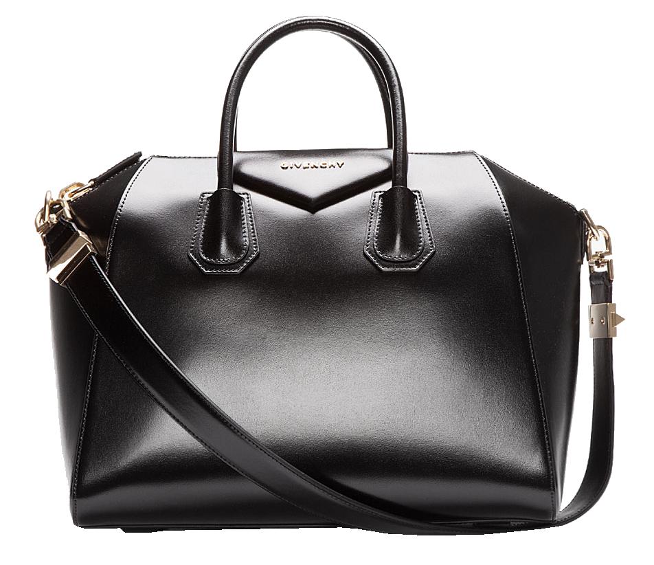 givenchy-black-buffed-leather-medium-antigona-duffle-bag