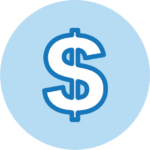Money Symbol Icon - this is how it works, represents pricing