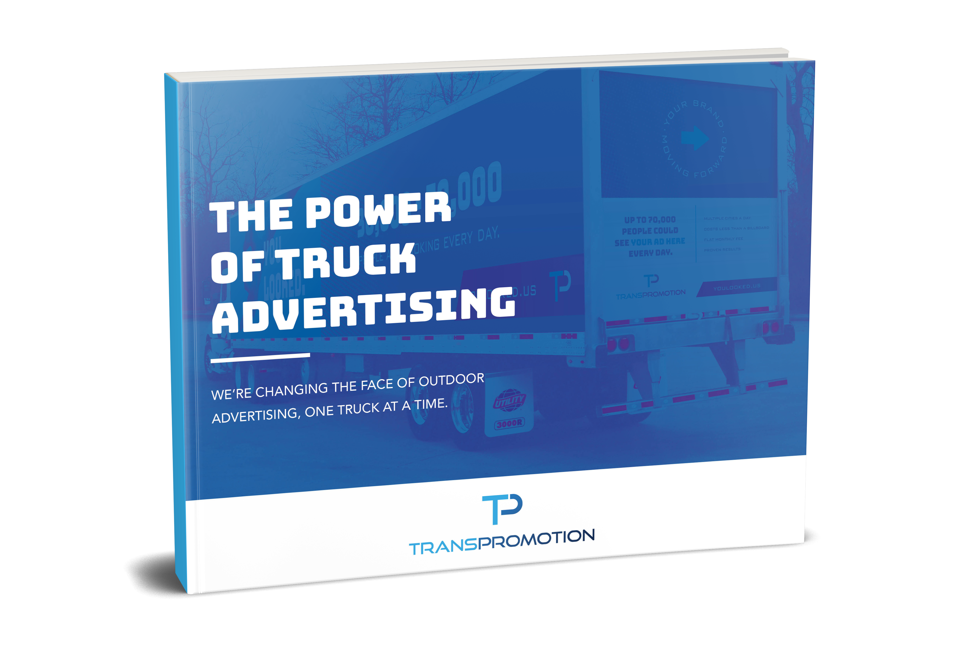 Truck Side Advertising Guide Mockup Cover