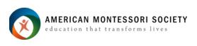 American Montessori Society
