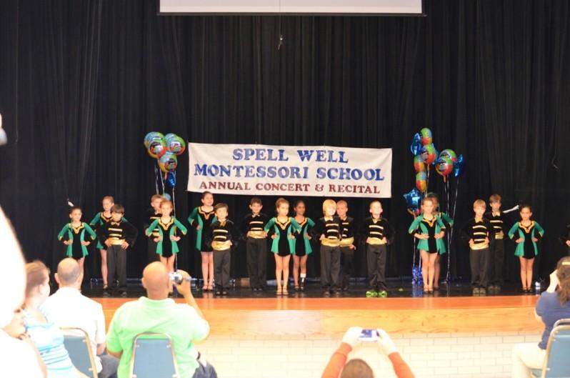 A school recital for children