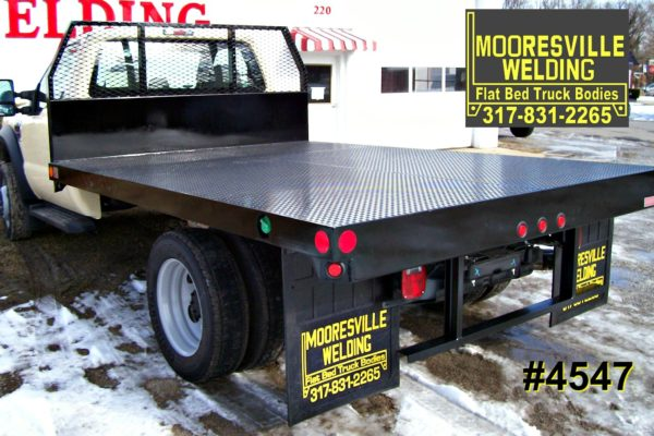 Mooresville Welding, Inc. Flatbed Truck Body #4547