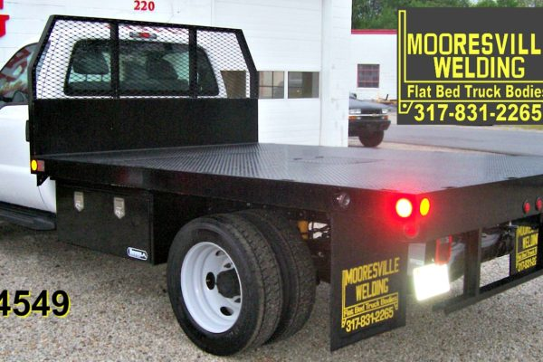 Mooresville Welding, Inc. Flatbed Truck Body #4549