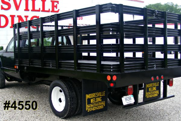 Mooresville Welding, Inc. Flatbed Truck Body #4550