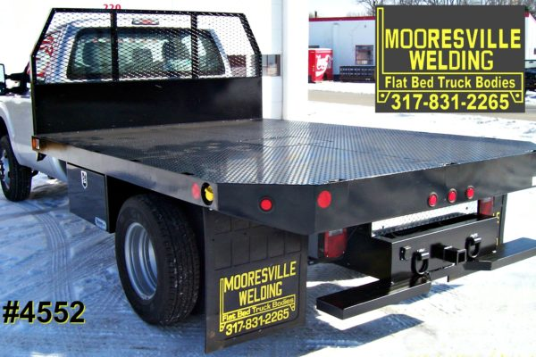 Mooresville Welding, Inc. Flatbed Truck Body #4552