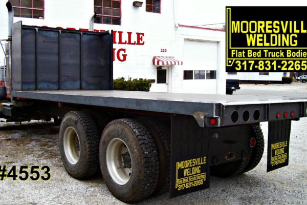 Mooresville Welding, Inc. Flatbed Truck Body #4553
