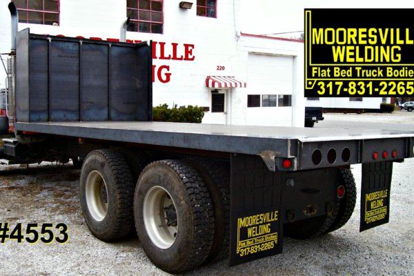 Mooresville Welding, Inc. Flatbed Truck Body #4553