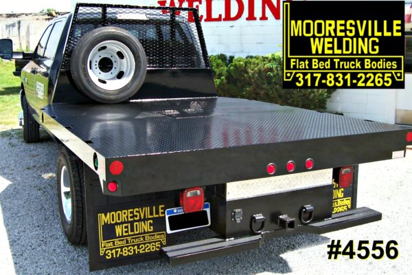 Mooresville Welding, Inc. Flatbed Truck Body #4556