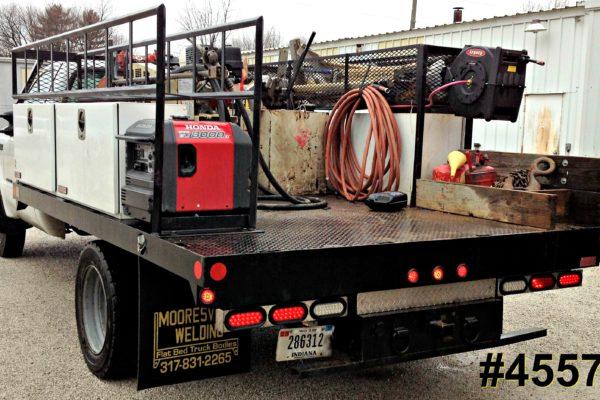 Mooresville Welding, Inc. Flatbed Truck Body #4557
