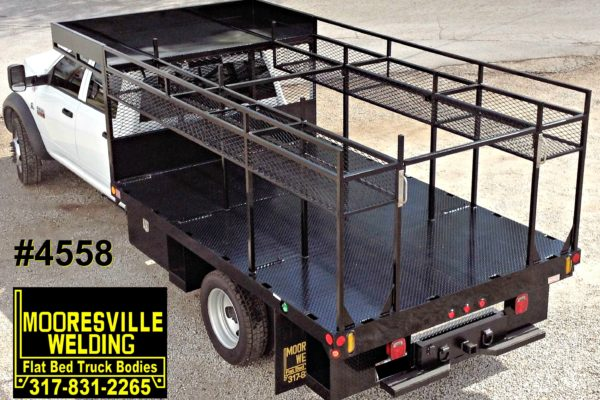 Mooresville Welding, Inc. Flatbed Truck Body #4558
