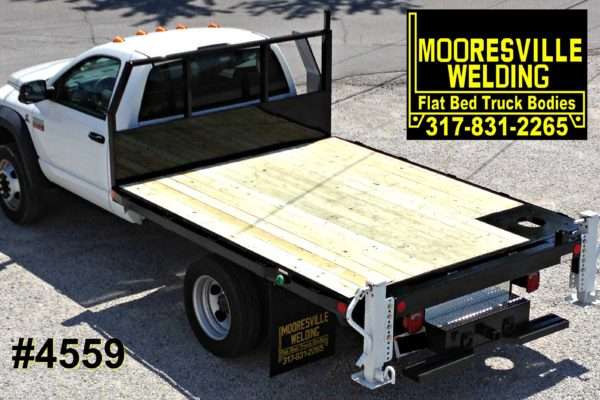 Mooresville Welding, Inc. Flatbed Truck Body #4559