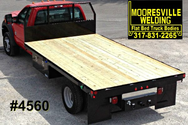 Mooresville Welding, Inc. Flatbed Truck Body #4560