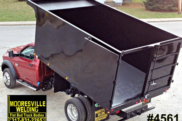 Mooresville Welding, Inc. Flatbed Truck Body #4561