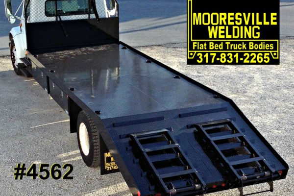 Mooresville Welding, Inc. Flatbed Truck Body #4562
