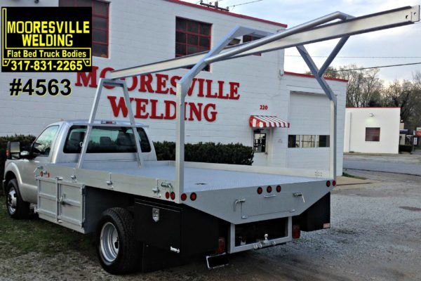 Mooresville Welding, Inc. Flatbed Truck Body #4563