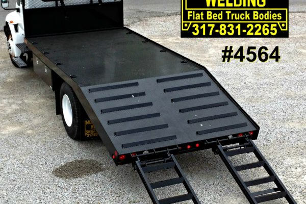 Mooresville Welding, Inc. Flatbed Truck Body #4564