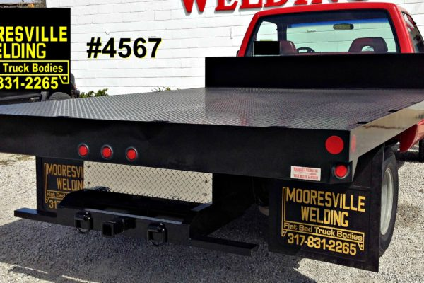 Mooresville Welding, Inc. Flatbed Truck Body #4567