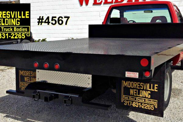 Mooresville Welding, Inc. Flatbed Truck Body #4567