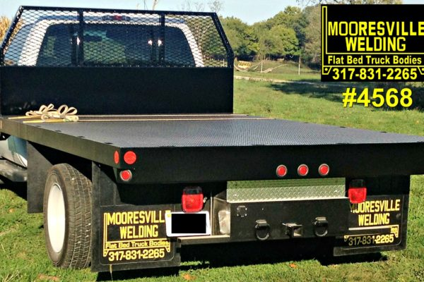 Mooresville Welding, Inc. Flatbed Truck Body #4568