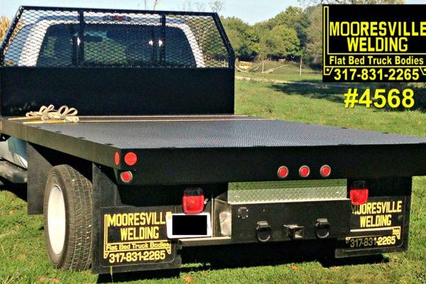 Mooresville Welding, Inc. Flatbed Truck Body #4568