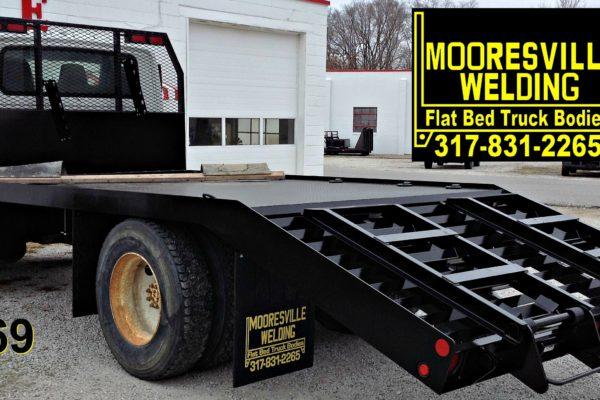 Mooresville Welding, Inc. Flatbed Truck Body #4569
