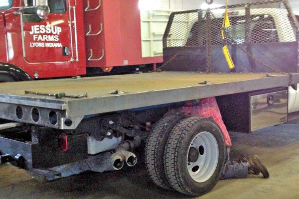 Mooresville Welding, Inc. Flatbed Truck Body #4570
