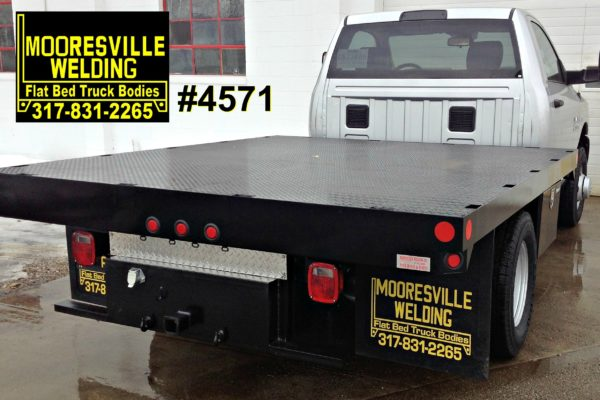 Mooresville Welding, Inc. Flatbed Truck Body #4571