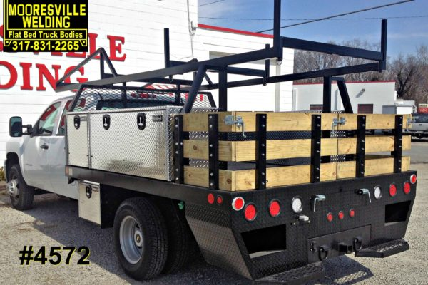 Mooresville Welding, Inc. Flatbed Truck Body #4572