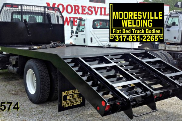 Mooresville Welding, Inc. Flatbed Truck Body #4575