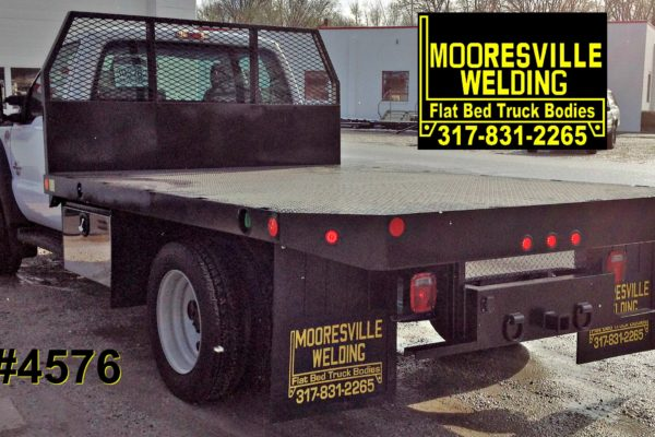 Mooresville Welding, Inc. Flatbed Truck Body #4576