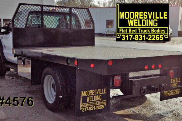 Mooresville Welding, Inc. Flatbed Truck Body #4576