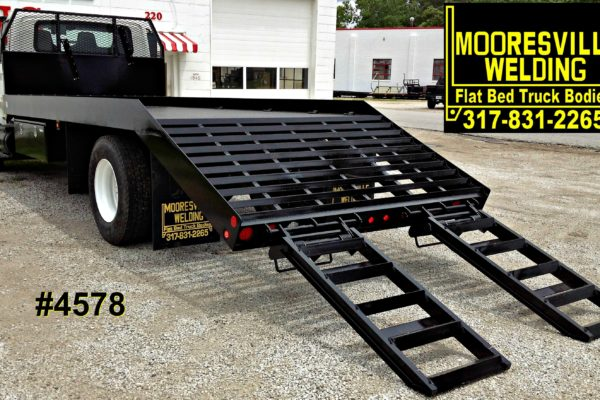 Mooresville Welding, Inc. Flatbed Truck Body #4578