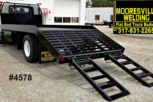Mooresville Welding, Inc. Flatbed Truck Body #4578