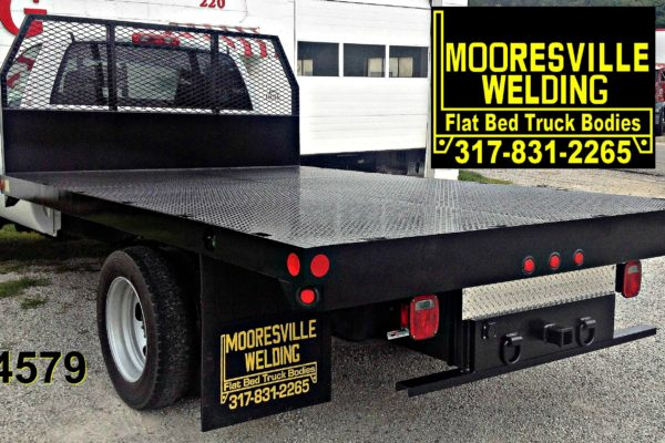 Mooresville Welding, Inc. Flatbed Truck Body #4579